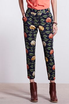 Stunning crop pants from Anthropology - hello summer nights!
