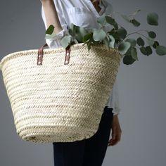 сумки в базовом гардеробе, сумка-корзинка