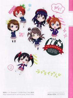 Sunrise (Studio), Love Live! School Idol Project, Honoka Kosaka, Niko Yazawa, Hanayo Koizumi