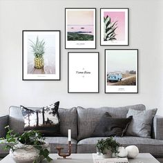 Pineapple Landscape Poster Seawater Painting Posters And Prints Nordic Poster Canvas Pictures For Living Room Wall Art Unframed #walldecor #interiordesigner #homedecor #wallartprints #artdecor #artprint #canvasphotoprints #wallartdecor #wallpainting