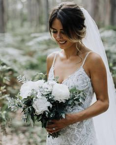 """2,427 Likes, 15 Comments - Grace Loves Lace (@grace_loves_lace) on Instagram: """"She's magic that one... #GLLbride Courtney in our ROSA gown and HENRI veil  …"""""""
