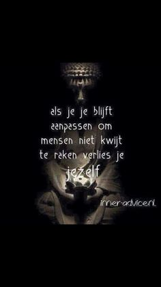 . Angst Quotes, Sad Quotes, Words Quotes, Life Quotes, Inspirational Quotes, Sayings, Dutch Quotes, Positive Inspiration, Strong Quotes