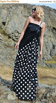 SALE 40% OFF Summer Maxi Dress Polka Dot Dress Party Dress https://www.etsy.com/listing/536638845/sale-40-off-summer-maxi-dress-polka-dot?utm_campaign=crowdfire&utm_content=crowdfire&utm_medium=social&utm_source=pinterest