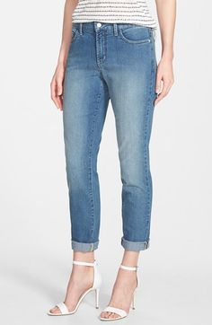 Perimeter---NYDJ 'Nichelle' Stretch Roll Cuff Ankle Jeans (Palmdale) (Regular & Petite) available at #Nordstrom