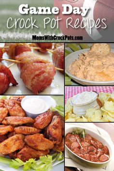 Game Day Crock Pot Recipes