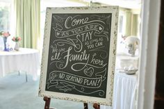 wedding signs, vintage wedding, chalkboard, wedding seating plan, Kristin Partin Photography befair&bloom
