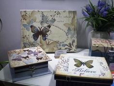 Decoupage Boxes As Products Of Passion Toward Aesthetic Beauty | Jewelry Boxes & Jewelry Cabinets