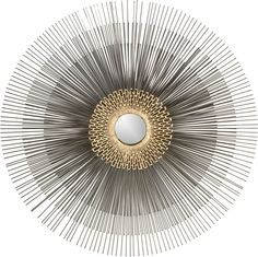 Starburst Mirror in Wall Art   Crate and Barrel