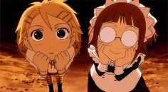 Black Butler ~~~ Finny and Mei-rin are enthralled in... something or other.