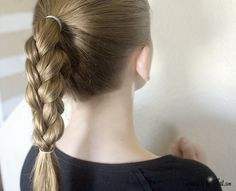 video showing how to do a 4 sided box braid