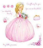 Zestaw stempli Little Princess – Scrap Berry& – Stemple akrylowe Cute Pictures To Draw, Little Girl Pictures, Little Girls, Princess Illustration, Cute Illustration, Baby Girl Quotes, Baby Scrapbook, Love Painting, Vintage Cards