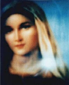 Blessed Mother, Mother of God, Mother Mary apparition picture at Medjugorje