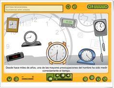 """""""Sistema sexagesimal de medida del tiempo y de ángulos"""" (Junta de Castilla La Mancha) Map, Projects, Maths Area, Interactive Activities, Log Projects, Blue Prints, Location Map, Maps"""