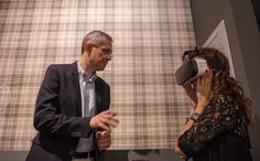 The solution about narrowness of space in the retail stores: #virtualreality. With our tool customers can immerge in a emotional and immersive experience and it will simplify the customer journey itself. #Cersaie2016 #CeramicaSantAgostino #technology