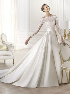 PRONOVIAS 2014 Atelier Collection Yamay www.sterenborgbruidsmode.nl