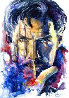 Doctor Strange by SakuTori.deviantart.com on @DeviantArt