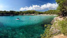Cala Galdana, Fine Sand, Balearic Islands, Menorca, Day Off, Pine, Paradise, Trees, Sea