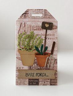 Pot Plante, Kraut, Planting Flowers, Decorative Boxes, Shed, Paper Crafts, Perfume, Scrapbook, Garden