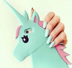 Mint Unicorn Case