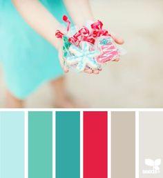 Christmas Palette, design seeds