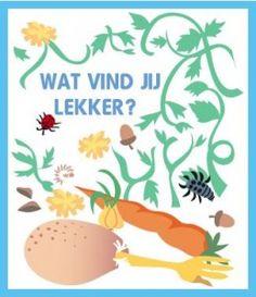 Gemma Stekelenburg bedacht dit verhaal. Of Is het 'n interactief spel? Is het 'n lesje over dieren? Het kan allemaal! Zoek van WIE die lekkere hapjes zijn!