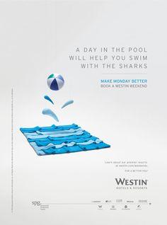 Webber Represents — Westin Hotels (Print)