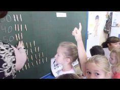 Trabajando con decenas en Infantil de 5 años. - YouTube