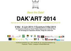 La biennale de Dakar commence aujourd'hui... A vos agendas... Dates & Expos et infos sur #wakhart  http://www.wakhart.com/events/biennale-dakart-2014/