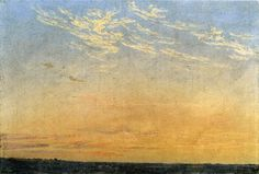 Caspar David Friedrich - Evening, 1824