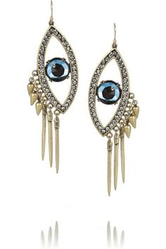 Amazon.com: J. Crew Lulu Frost Dazzling Crystal Eye Earring: Everything Else