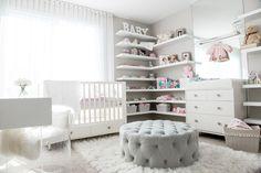 Nursery-Ethan Allen- Pink nursery- Disney Baby-Crib