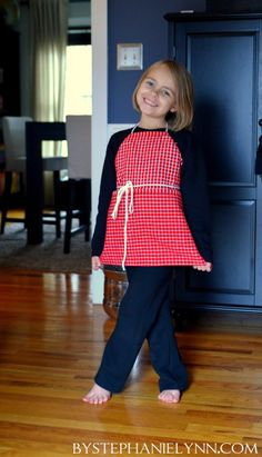 Under The Table and Dreaming: How to Make a No Sew Kitchen Towel Apron: A Simple Baking & Crafting Apron for Kids