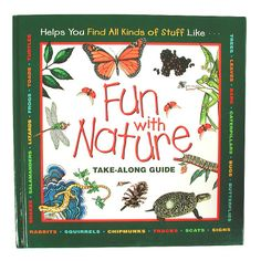 Fun with Nature Book for Kids | Bass Pro Shops // Fun with Nature is a take-along guide for kids who like to explore the outdoors. The hardback book features full color illustrations and explanations of things found in nature. Kids will learn about birds, plants, flowers, rocks, berries and more. #outdoorkids #naturelovers #getoutside #kidscamp