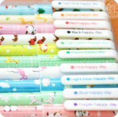 Copains de stylo asiatiques gratuits