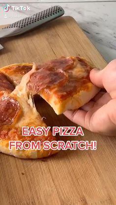 Tasty Videos, Food Videos, Easy Baking Recipes, Cooking Recipes, Pizza Recipes, Easy Snacks, Healthy Snacks, Aesthetic Food, Aesthetic Style