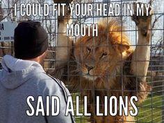 Lion Pick Up Lines