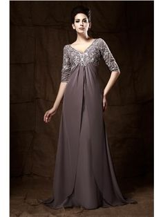 Fabulous Lace Scoop Neckline Floor-length Empire Waist Mother of ...