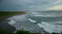 Awesome beach! Can not swim here though.. The wave is too rough i guess.. @ batu hiu, pangandaran, indonesia.