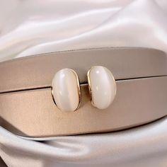 Charm Jewelry Fashion Opal Stud Earrings 2020 New Simple Women Small Earrings | Touchy Style Small Earrings, Cute Earrings, Unique Earrings, Beaded Earrings, Earrings Handmade, Unique Jewelry, Charm Rings, Charm Jewelry, Pinterest Jewelry
