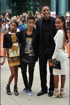 Will Smith's Family