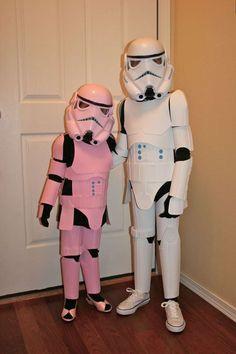 diy storm trooper costume using foamboard
