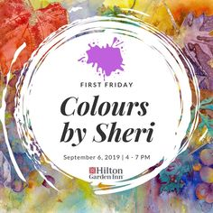 We are so excited to have our FIRST featured, local artist here with us THIS Friday, September for First Friday! First Friday, Local Artists, Give It To Me, Abstract Art, September, Delicate, Colours
