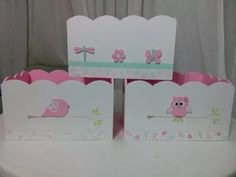 portacosméticos bebes Arts And Crafts, Paper Crafts, Diy Crafts, Decoracion Baby Shower Niña, Decoupage, Baby Girl Clipart, Clay Box, Baby Shawer, Pink Owl