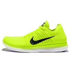 quality design a0de8 9db7a Chaussures Nike · Free RN Flyknit MS Mens Running Volt Black-White    Nice  of you