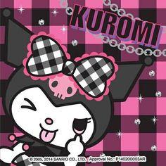 Image via We Heart It https://weheartit.com/entry/140093240/via/16749372 #kuromi #sanrio