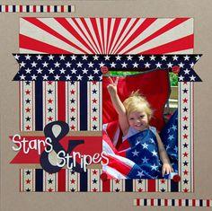 Stars & Stripes - Scrapbook.com