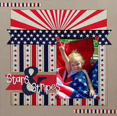 Stars & Stripes - Scrapbook.com