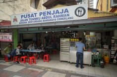 This is an illegal occupation. It used to be a side street or lane at Chow Kit where my favourite childhood Ice Kachang was located. The Prince of Wales Kindergarten that I attended was just behind this lane. It is now a roofed in hawker centre.
