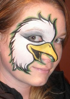29 Facepainting Eagles Ideas In 2021 Face Painting Kids Face Paint Eagle Face
