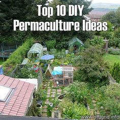 """We discovered a fantastic introduction to the benefits of Permaculture. It was written by Maddy Harland, editor of Permaculture magazine, and is full of great ideas to keep your garden thriving, including tips to make a garden on your roof, walls or a balcony if you don't have any other space available. You'll also discover the wonders of the """"animal tractor"""" and """"chicken greenhouse"""", designed to make your garden more efficient and self-sufficient!"""